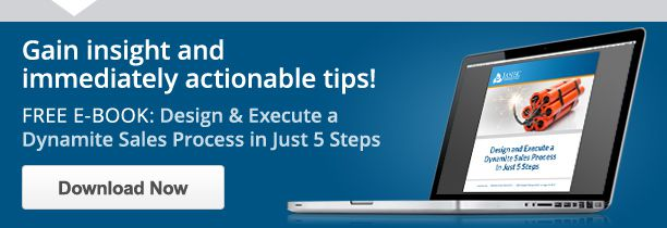 Design & Execute a Dynamite Sales Process in Just 5 Easy Steps